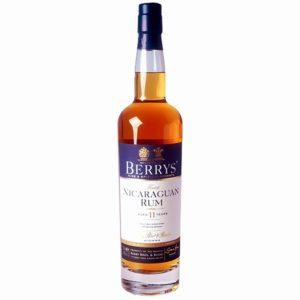 BERRYS' Rum Nicaragua 11 Years