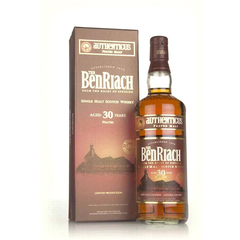 BENRIACH 30 Years Authenticus Peated