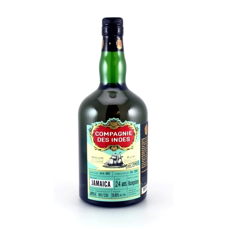 COMPAGNIE DES INDES Jamaica Hampden 24 Years Single Cask