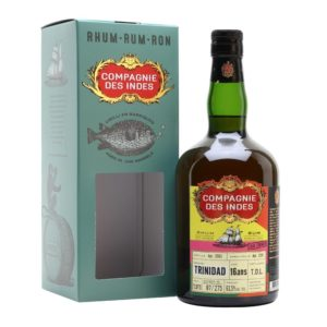 COMPAGNIE DES INDES Trinidad TDL 16 Years Single Cask