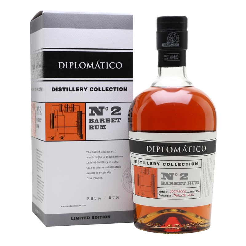 DIPLOMATICO Distillery Collection No 2 Single Barbet Column Rum