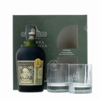 DIPLOMATICO Exclusiva Gran Reserva 12 Years Old Fashioned Set