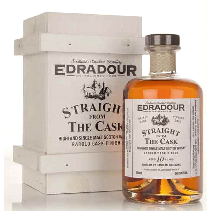 "EDRADOUR 2002 straight from the Cask ""Barolo Finish"""