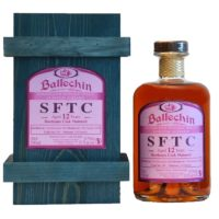 EDRADOUR Ballechin 12 Years Straight from the Cask Bordeaux Cask