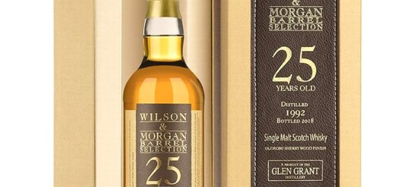 GLEN GRANT 1992 25 Years Wilson & Morgan