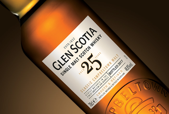 GLEN SCOTIA 25 Years Detail