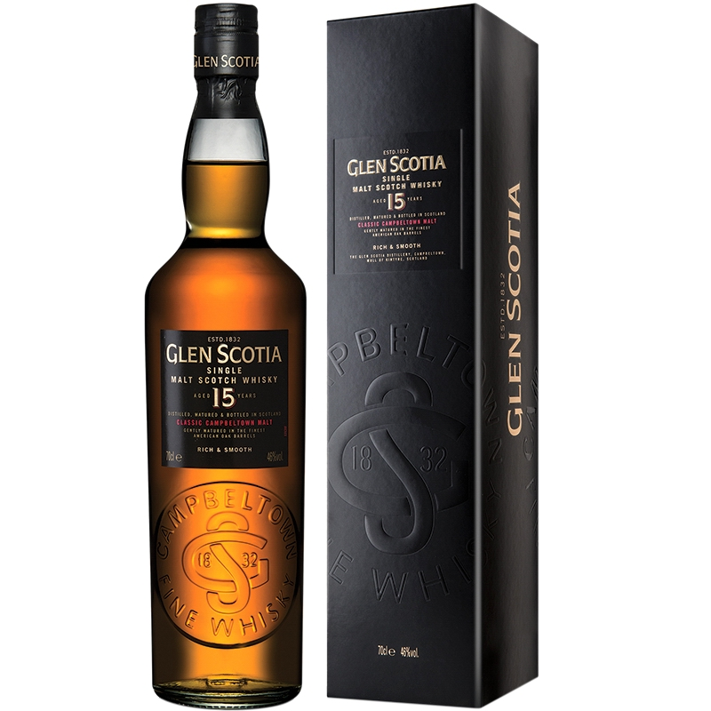 GLEN SCOTIA Exceptional Rare 15 Years