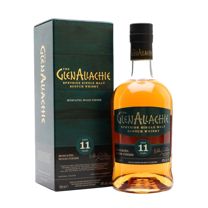 GLENALLACHIE 11 Years Moscatel Wood Finish