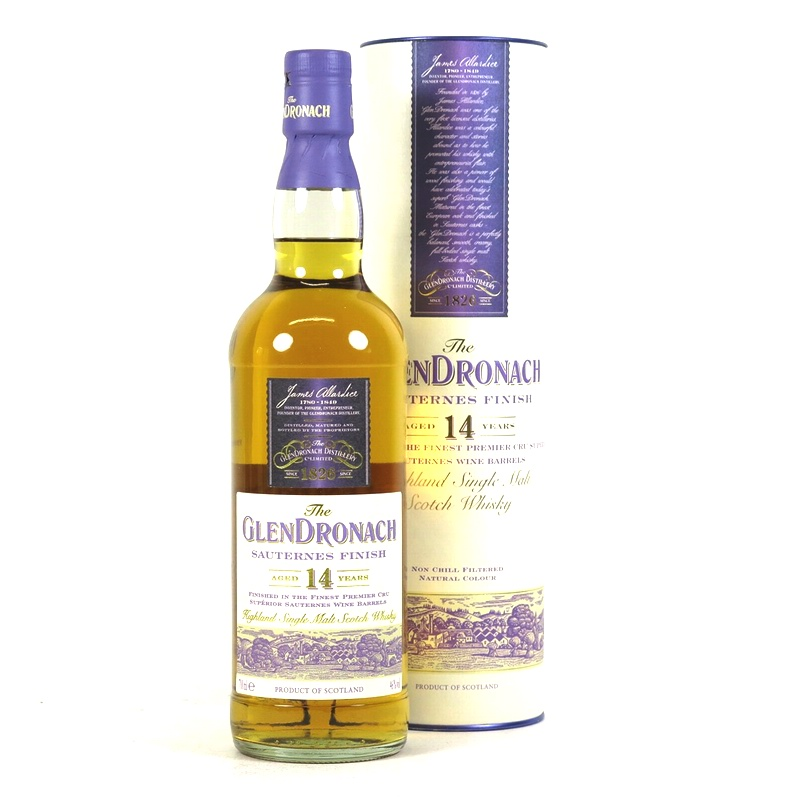 GLENDRONACH 14 Years Sauternes Finish
