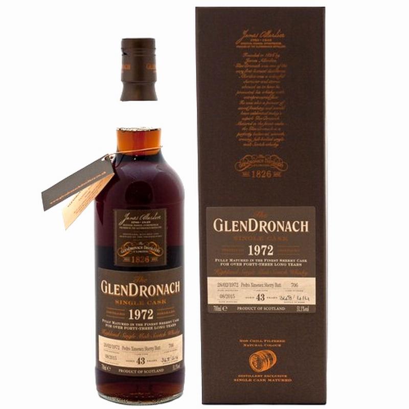 GLENDRONACH 1972 43 Years