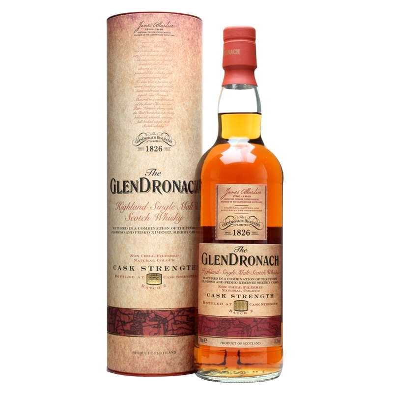 GLENDRONACH Cask Strength Batch 2