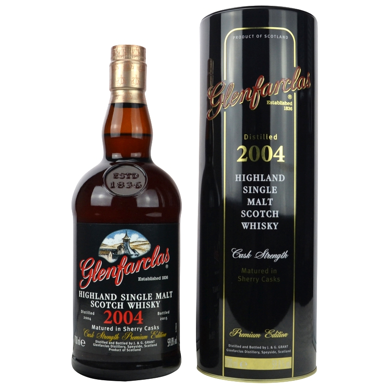GLENFARCLAS 2004 Cask Strength