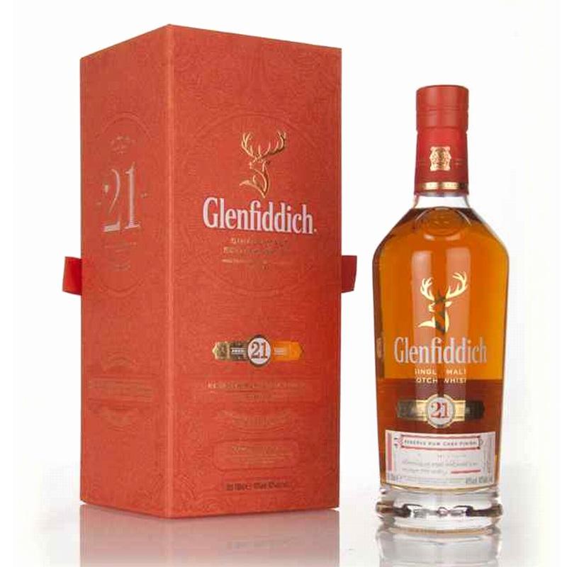 GLENFIDDICH 21 Years Reserva Rum Cask Finish