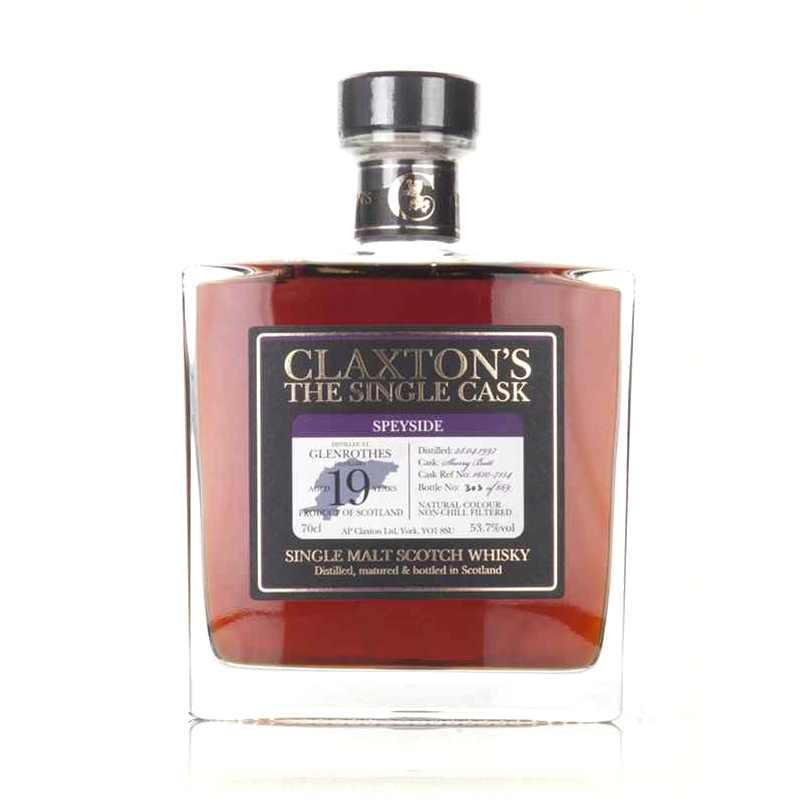 GLENROTHES 1997 19 Years Claxton's The Single Cask