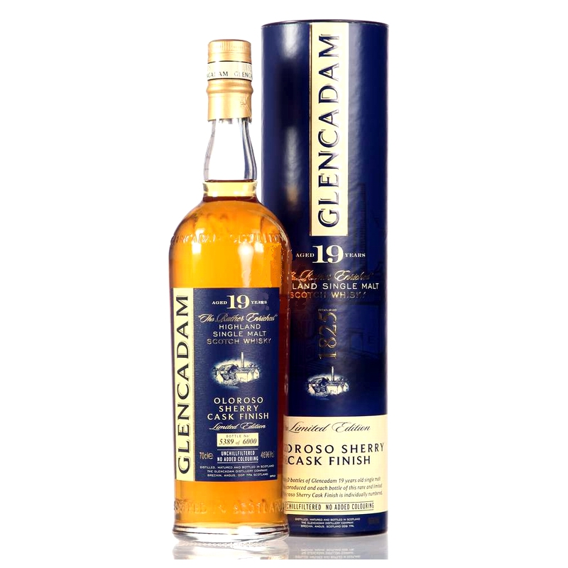 GLENCADAM 19 Years Oloroso Sherry Finish