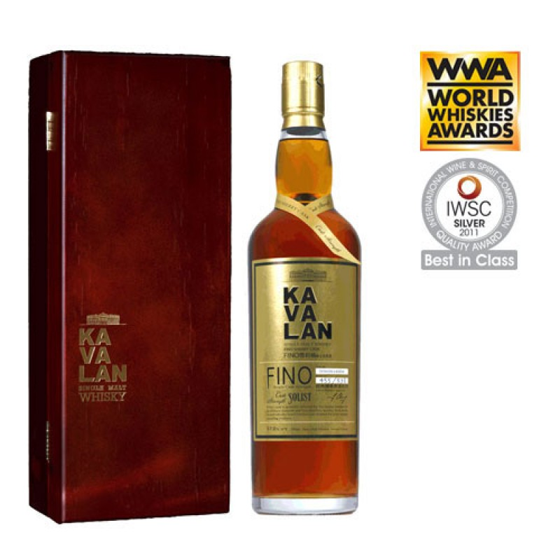 KAVALAN Solist Fino Sherry Single Cask