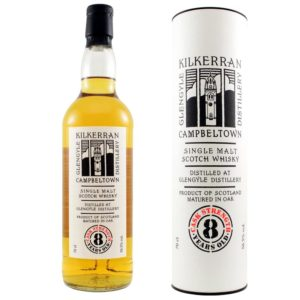 KILKERRAN 8 Years Cask Strength Bourbon
