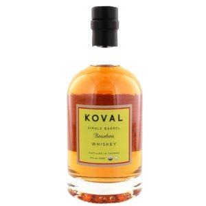 KOVAL Bourbon Single Barrel Whiskey 50cl