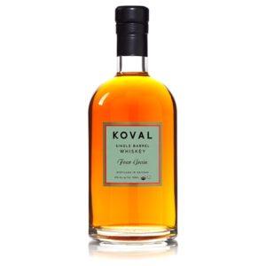 KOVAL Four Grain Single Barrel Whiskey 50cl
