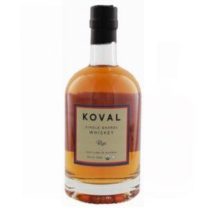 KOVAL Rye Single Barrel Whiskey 50cl