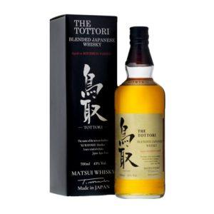 KURAYOSHI THE TOTTORI Blended Japanese Whisky Borbon Barrel