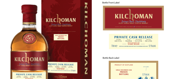 Private Single Cask Abfüllung von Kilchoman gestohlen
