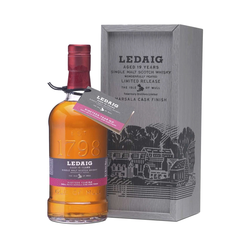 LEDAIG 19 Years Marsala Finish