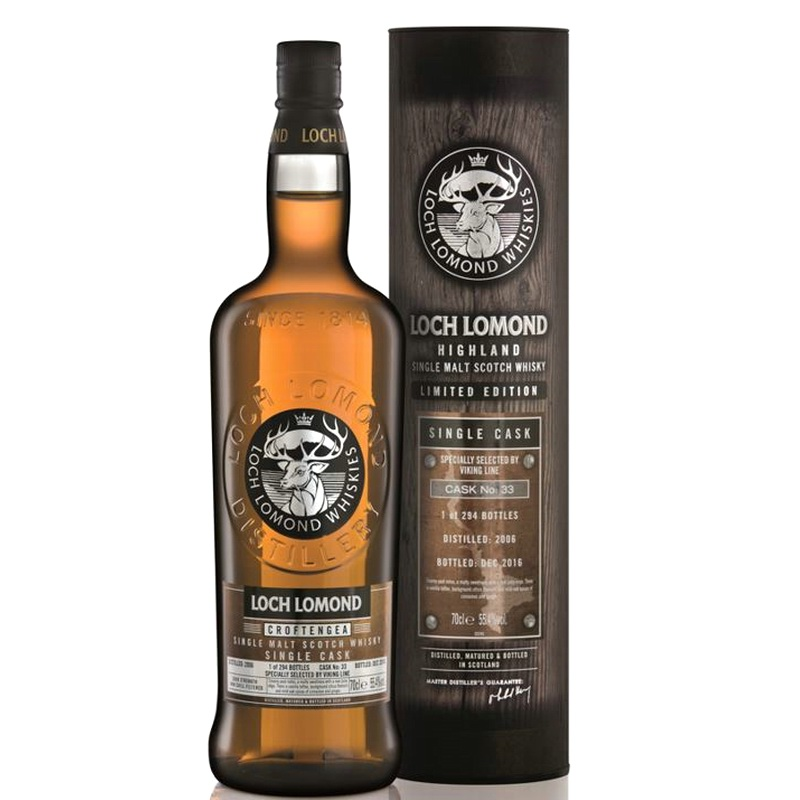 LOCH LOMOND 14 Years Cask Strength Single Cask peated