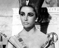 Liz Taylor als Kleopatra