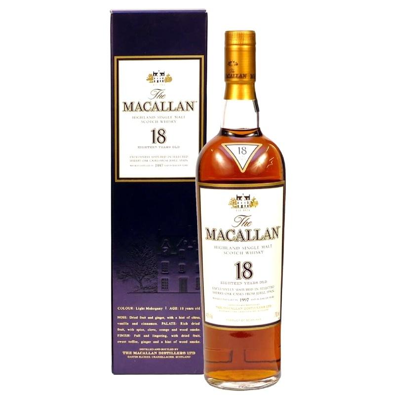 MACALLAN 18 Years Sherry Oak
