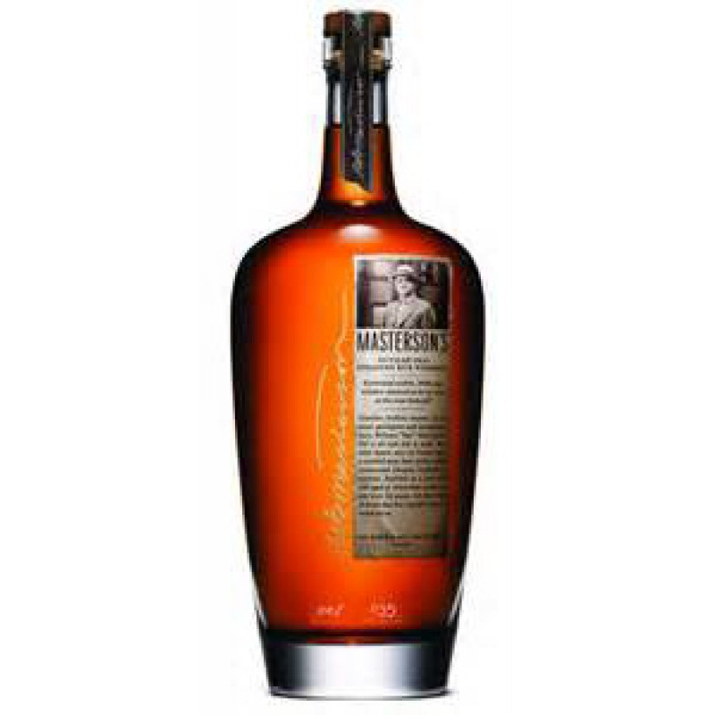 MASTERSON'S Straight Rye Whiskey 10 Years