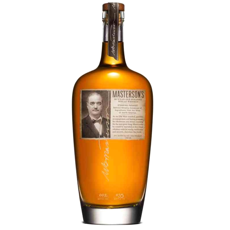 MASTERSON'S Straight Wheat Whiskey 12 Years