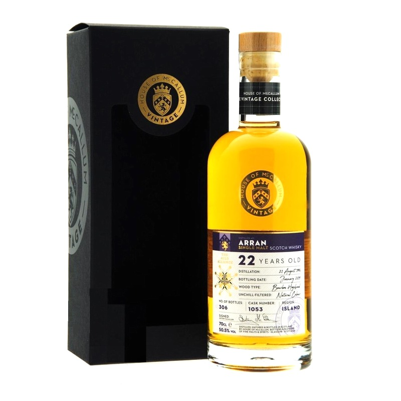 MCCALLUM Arran 22 Years Single Cask