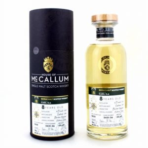 MCCALLUM Caol Ila 8 Years Bourbon Hogshead