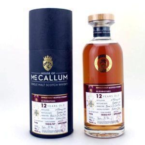 MCCALLUM Glenrothes 12 Years Beaune 1er Cru Cask Finish