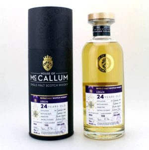 MCCALLUM Ledaig 24 Years Bourbon Hogshead