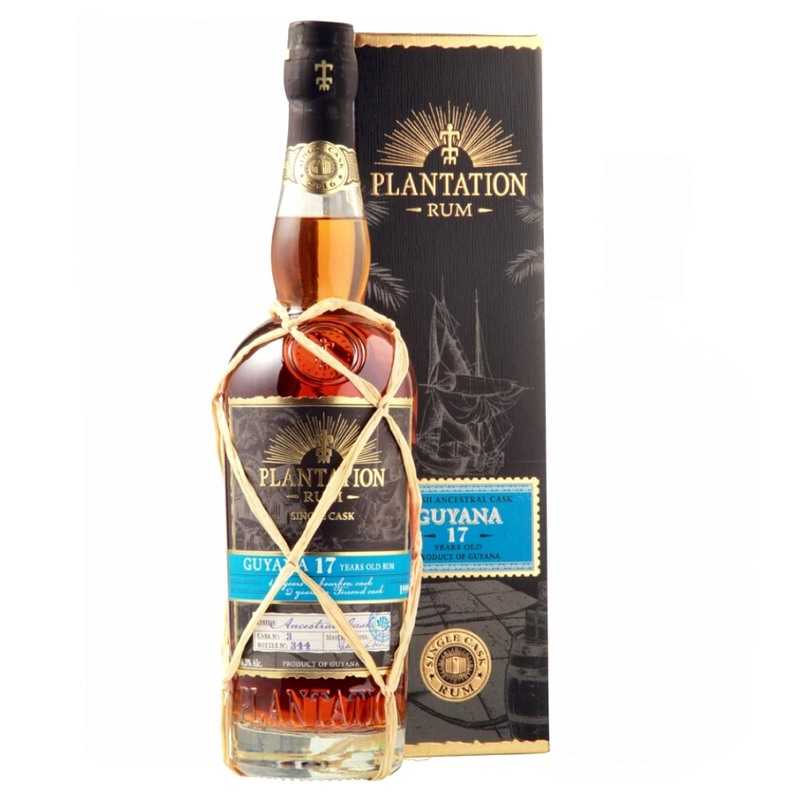 PLANTATION RUM Guyana 17 Years Single Cask Ancestrale Cognac Finish