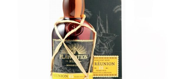 PLANTATION RUM La Reunion 15 Years Porto Ruby Finish