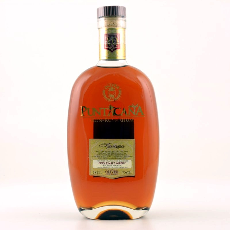 PUNTACANA Club Tesoro 15 Years Whisky Finish