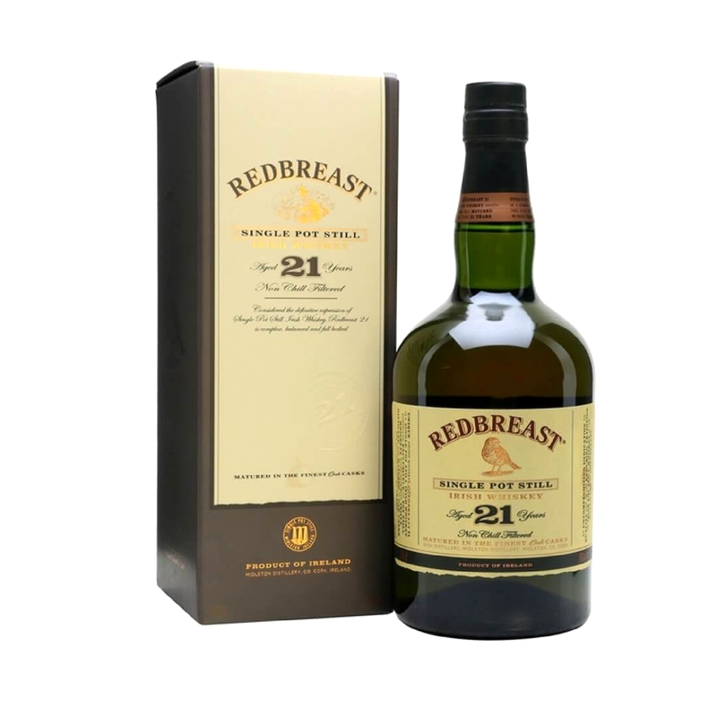 REDBREAST 21 Years Single Pot Still