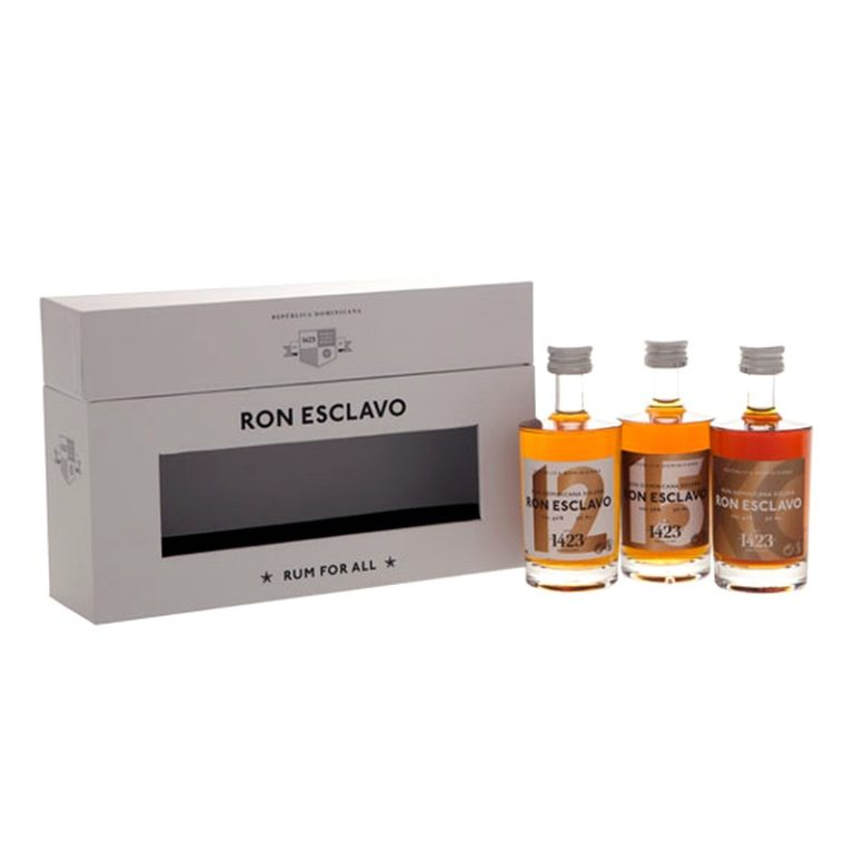 RON ESCLAVO Mini-Set 3x5cl
