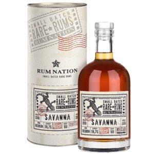RUM NATION Savanna 2006 12 Years