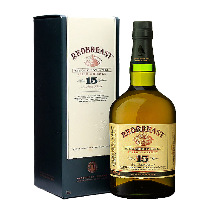 REDBREAST 15 Years Pot Still