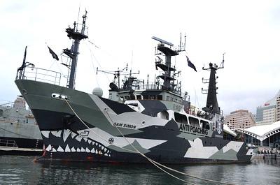Sea Shepherd Schiff Sam Simon, Wikipedia Saberwyn
