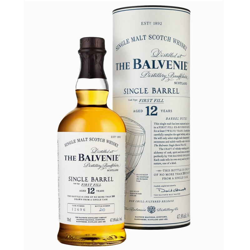 THE BALVENIE 12 Years Single Barrel First Fill
