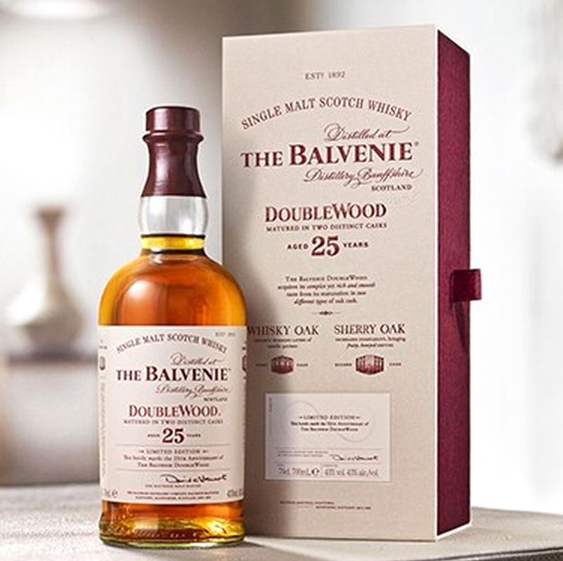 THE BALVENIE 25 Years Doublewood