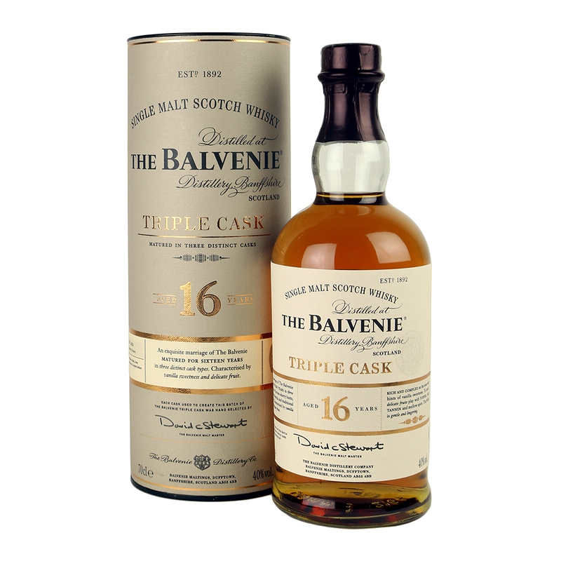 THE BALVENIE Triple Cask 16 Years