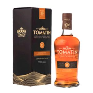 TOMATIN 15 Years Moscatel Cask Finish