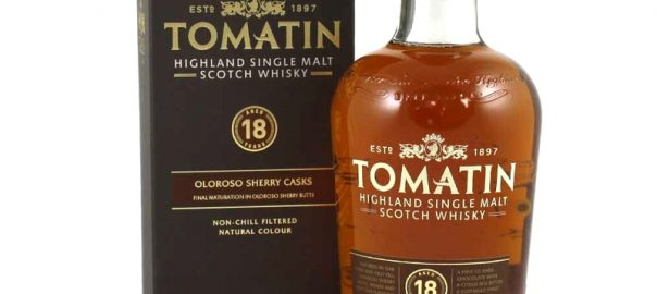 TOMATIN 18 Years Oloroso Sherry Finish