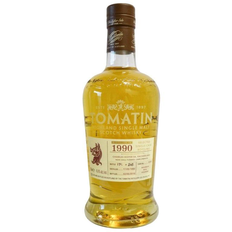 TOMATIN 1990 Single Cask
